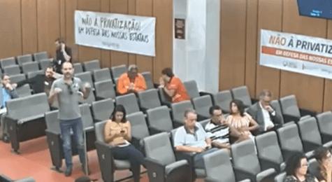 Ney Alencar, diretor da ABCF, lembrou privatizações de empresas de energia que deram errado no Rio de Janeiro e em Goiás.