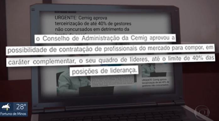 Site da ABCF no MGTV